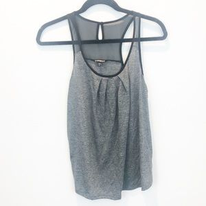 Express | black and gray tank NWOT